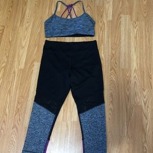 Cute workout set